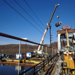 Demolition of Existing 60 Ton Morgan Gantry Cranes from Conowingo Dam Spillway