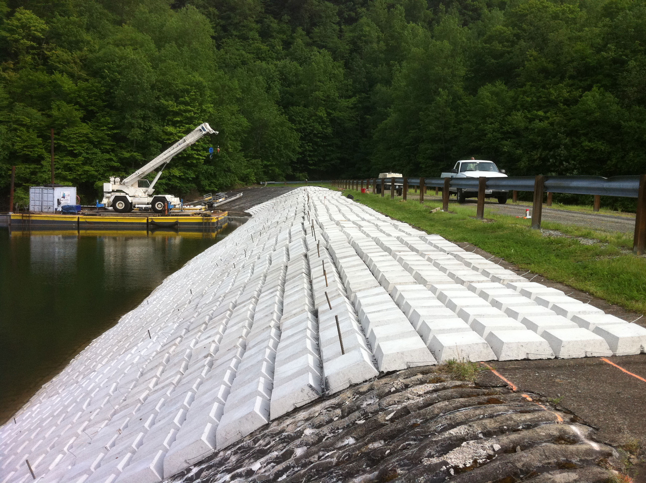 Articulated Concrete Block Mat Revetment - Crofton Industries