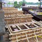 Dry Dock Access Concrete Bridge and Ramp