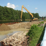 Lee Hall Reservoir Spill Way Repair