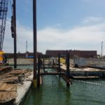 Crofton Construction builds new floating pier in Hampton, VA.